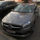 Die neuen Mercedes-Benz Modelle von car2go in Wien.