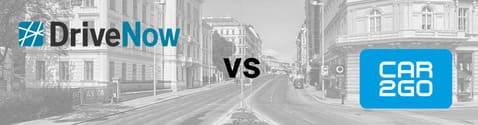 DriveNow Wien vs. car2go Wien
