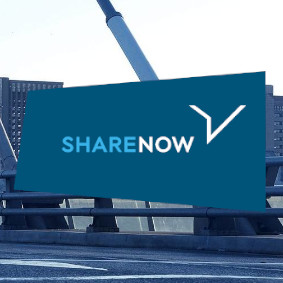 SHARE NOW Carsharing-Autos